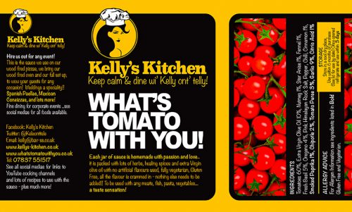KELLY KITCHEN LABEL